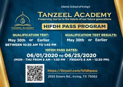 HIFDH Pass May 2020
