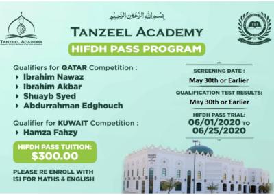 Tanzeel Academy KUWAIT Flyer