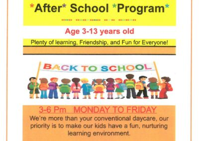 Child Care_After School Program