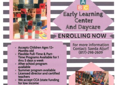 Daycare_Enrolling Now